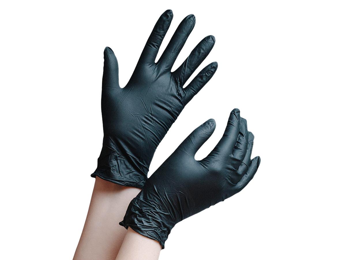 Перчатки нитриловые, повышенной прочности, размер S, True Glove
