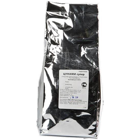1 кг. Цунами супер парафин. приманка рыба / шоколад / клубника / арахис